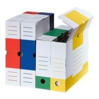 cartonia Archivschachtel »Color« 8,3 cm breit und farbig sortiert - 8 Stück