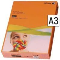Farbiges Druckerpapier A3 Xerox Symphony Intensive Farben - 500 Blatt gesamt