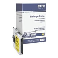 OTTO Office Tintenpatrone ersetzt Brother »LC-980/LC1100Y«