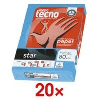 Inapa tecno 20 Pack Kopierpapier »Star«
