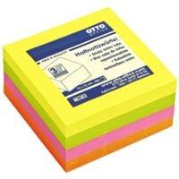 OTTO Office Haftnotizwürfel 4-farbig neon 75x75 mm 400 Blatt