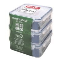 Lock & Lock 3-teiliges Vorratsdosen-Set »HPL82303« (3x 870 ml)