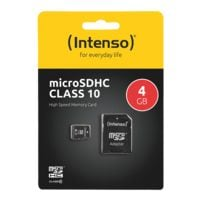 Intenso microSDHC-Speicherkarte »Intenso Class10 4GB«