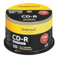 Intenso CD-Rohlinge »Printable CD-R«