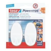 tesa Powerstrips »Haken large« 58013