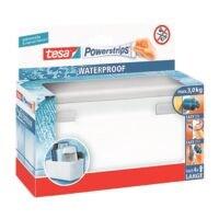 tesa Badezimmerkorb/-Regal »Powerstrips Waterproof« 59711 eckig