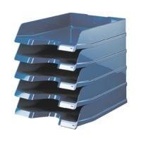 5x HAN Briefablage VIVA, C4 Polystyrol, stapelbar bis 20 Stück