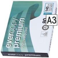 Recycling Kopierpapier A3 Clairefontaine Everycopy Premium - 500 Blatt gesamt