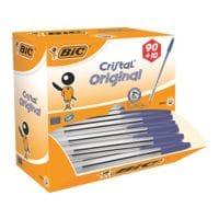 100x Kugelschreiber BIC Cristal Medium, dokumentenecht