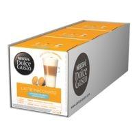 Nescafe 3 Packungen Kaffeekapseln »Dolce Gusto® Latte Macchiato«