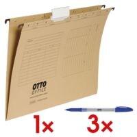 OTTO Office Hängemappen inkl. 3x Einweg-Kugelschreiber »Eco Stick«