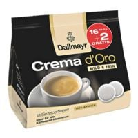 Dallmayr Kaffeepads »Crema d'Oro«