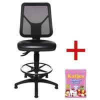 Topstar Arbeitsdrehstuhl »TEC 80 PK Counter« ohne Armlehnen inkl. Fruchtgummi »Joghurtgums«