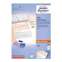 Avery Zweckform Formularvordrucke »SEPA-Überweisung/Zahlschein inkl. Software«