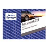 Avery Zweckform Fahrtenbuch »222« (A6 quer)