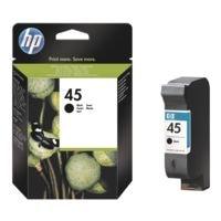 HP Tintenpatrone HP 45, schwarz - HP 51645AE