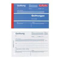 Herlitz Formularbuch »Quittung inkl. MwSt.« - 50 Blatt (1-fach)