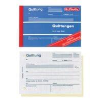 Herlitz Formularbuch »Quittung inkl. MwSt.« - 40 Blatt (2-fach)