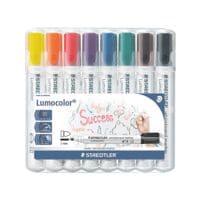 Staedtler 8er-Pack Whiteboard-Marker »Lumocolor 351«