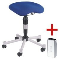Topstar Fitness-Sitzhocker »Balance 20« inkl. Ladegerät für Smartphones/Tablets »Powerbank«