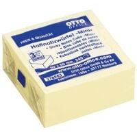 OTTO Office Haftnotizwürfel 50x50 mm »Mini« gelb