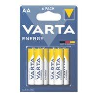 Varta 6er-Pack Batterien »Energy« Mignon / AA / LR06