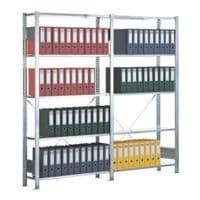 SCHULTE Lagertechnik Steckregal-Set »Multiplus 6 OH« einfache Tiefe