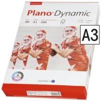 Multifunktionales Druckerpapier A3 Plano Dynamic - 500 Blatt gesamt