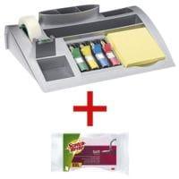 Post-It Schreibtisch-Organizer inkl. Reinigungsschwamm »Soft«