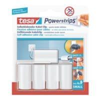 tesa Powerstrips »Kabel-Clip« 58035
