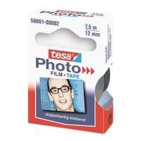 tesa Klebefilm Photo, transparent/beidseitig klebend, 1 Stück, 12 mm/7,5 m