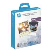 HP Foto-Tintenstrahl-Papier »Social Media Snapshot« 10x13 25 Blatt