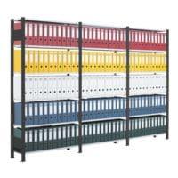 SCHULTE Lagertechnik Anbauregal für »Duo schmal« mit 6 Böden