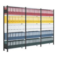 SCHULTE Lagertechnik Anbauregal für »Duo breit« mit 7 Böden