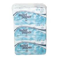 wepa Toilettenpapier 3-lagig, hochweiß - 72 Rollen (9 Pack à 8 Rollen)