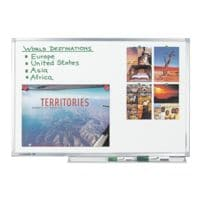 Legamaster Whiteboard emailliert, 300x155 cm