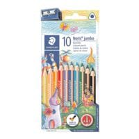 Staedtler 10er-Pack Buntstifte »Noris Club Jumbo«