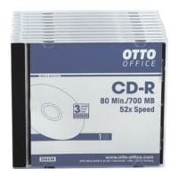 OTTO Office CD-Rohlinge »CD-R«, 10er Pack