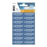 Herma Text- Etiketten »Mit Luftpost«