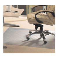 Bodenschutzmatte für Teppichböden, Polymer, Rechteck 120 x 130 cm, Floortex Evolutionmat
