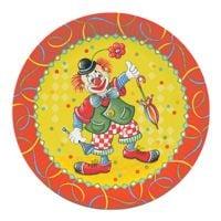 Papstar Einweg-Teller »Clown«