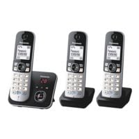 Panasonic Triple-Set Schnurloses Telefon »KX-TG6823GB«