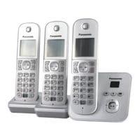 Panasonic Triple-Set Schnurloses Telefon »KX-TG6823GS«