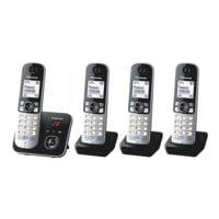 Panasonic 4-fach-Set Schnurlose Telefone »KX-TG6824«
