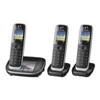 Panasonic Triple-Set Schnurloses Telefon »KX-TGJ323GB«