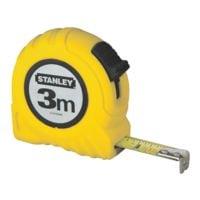 STANLEY Bandmaß »Powerlock« 3 m gelbes Kunststoffgehäuse