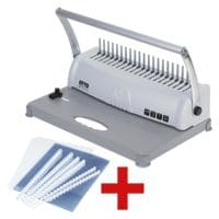 OTTO Office Plastikbindegerät »OP-120« inkl. Plastikbinde-Starter-Kit