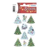 Herma Weihnachts-Sticker »Weihnachtswinterwald«