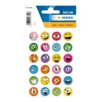 Herma Sticker »DECOR«, lustige Gesichter