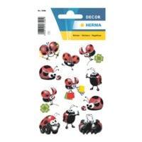 Herma Sticker »DECOR«, lustige Marienkäfer